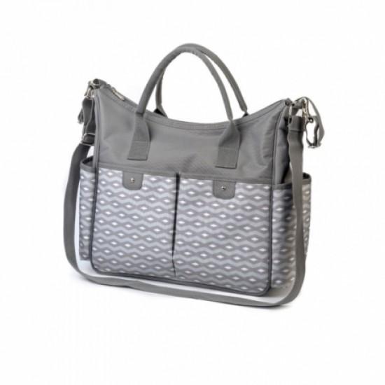 Τσάντα αλλαξιέρα Babyono So city Grey