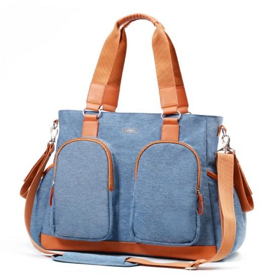 Babyono τσάντα αλλαξιέρα Glam Sky blue
