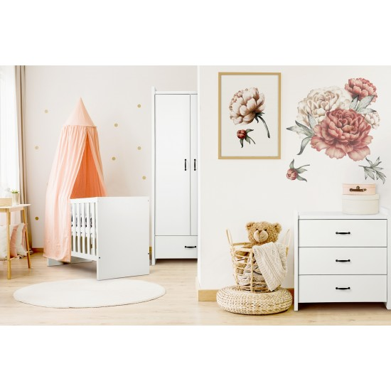 Βρεφικό δωμάτιο Amelia Κούνια και συρταριέρα