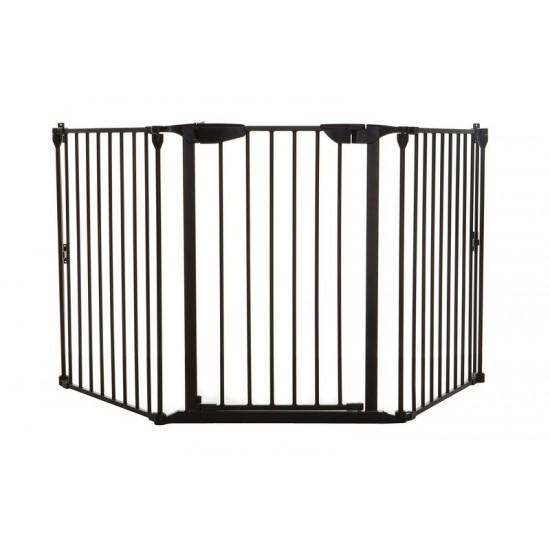 Μπάρα ασφαλείας DreamBaby Newport 3 Panel Black