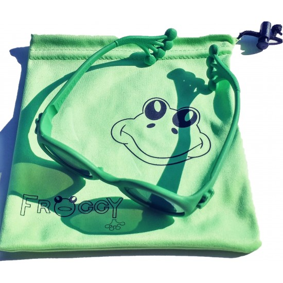 Παιδικα γυαλιά ηλίου Froggy green 12-36 μηνών