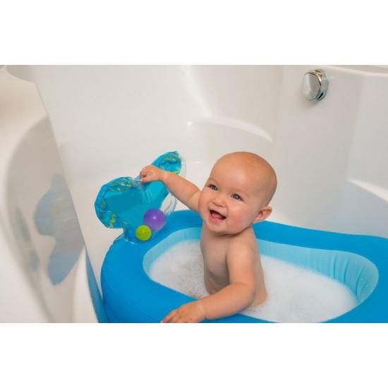 Παιχνίδια μπάνιoυ Topsy turvy-whale bubble ball inflatable bath tub Infantino