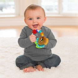 Κουδουνίστρα  Slide & chew teether keys Infantino