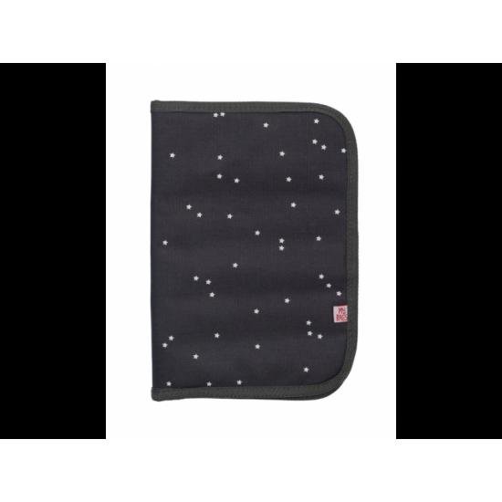 Θήκη Βιβλιαρίου Υγείας Mini stars dark grey