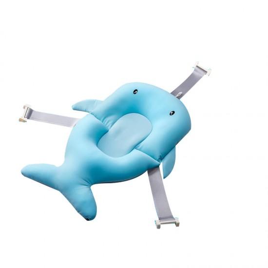 Βάση Mπάνιου Φάλαινα Που Επιπλέει Γαλαζιο