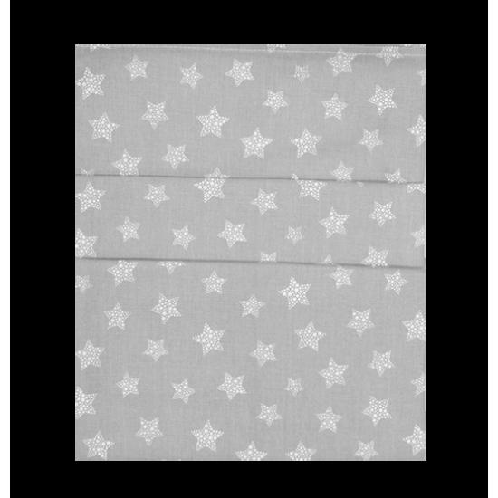 Σεντόνια Κούνιας Σετ 3Τμχ 110x160 Baby Oliver Αστεράκια γκρι